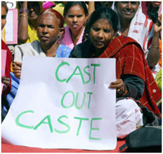caste within a single equality bill