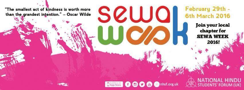 Sewa Week 2016 – The Seven Sewa Themes