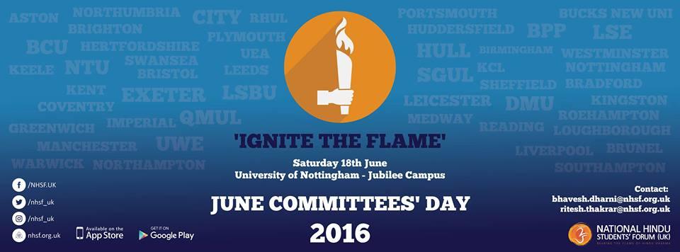 NHSF (UK) June Committees' Day – Let the Celebrations Begin