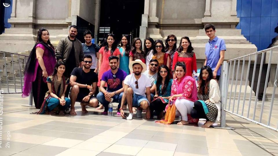 NHSF De Montfort University's trip to India