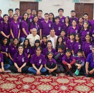 Youths descend on Maha Yagya to serve the Community