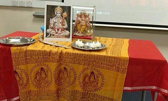 Hanumanji on Tour at NHSF Kent!