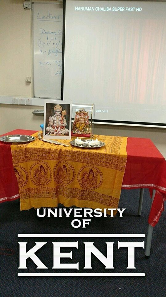 Hanumanji on Tour at NHSF Kent! | National Hindu Students