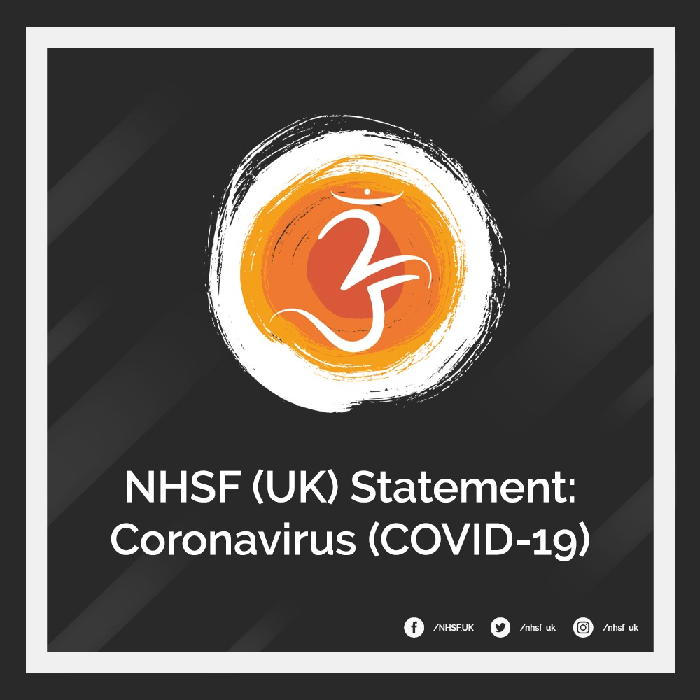 Serving our samāj – NHSF (UK) Statement: Coronavirus (COVID-19)